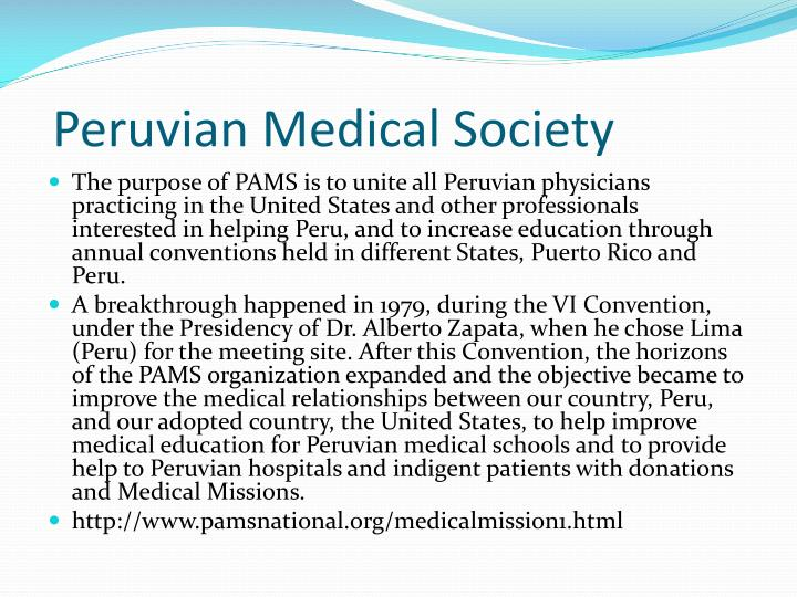 Peruvian Medical Society