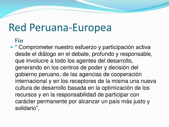 Red Peruana-Europea