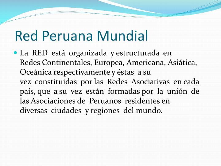 Red Peruana Mundial