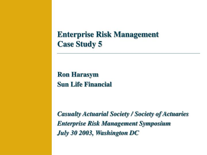risk management case study in construction The present report summarises six case study reports on risk decision support framework for cost-efficient risk management in risk assessment case.