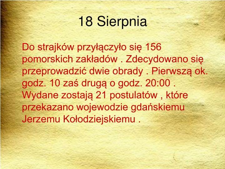 18 Sierpnia