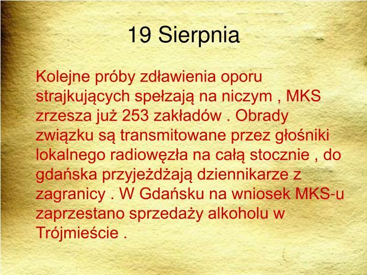 19 Sierpnia