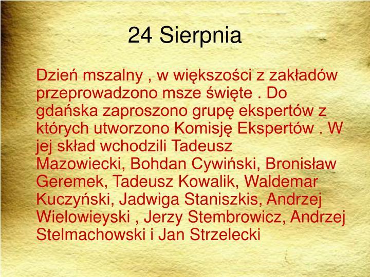 24 Sierpnia