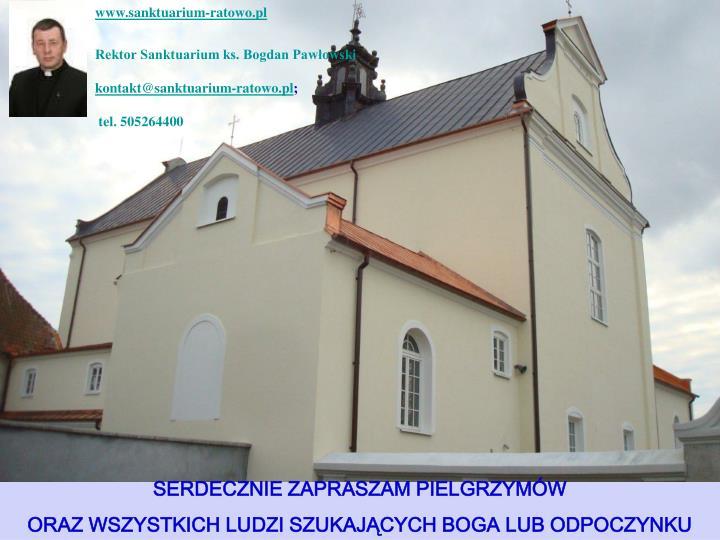 www.sanktuarium-ratowo.pl