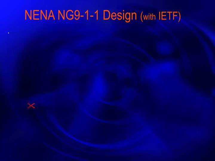 NENA NG9-1-1 Design