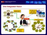 one integrated vision