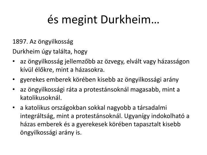 és megint Durkheim…