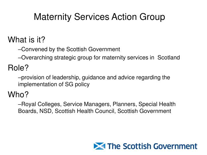 Maternity Services Action Group
