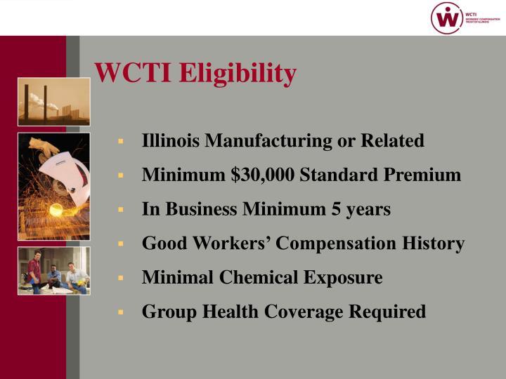 WCTI Eligibility
