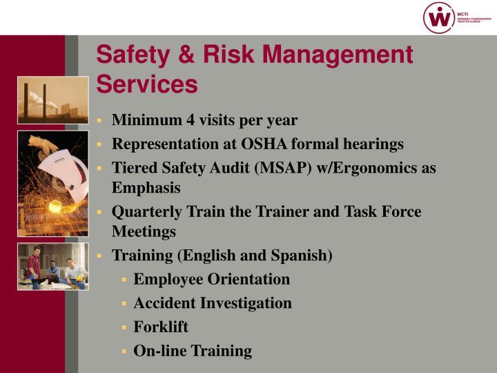 Safety & Risk Management Services