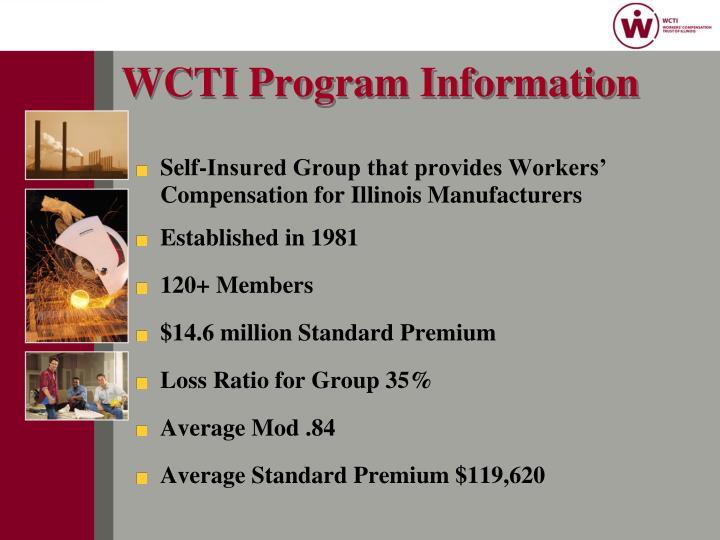 WCTI Program Information