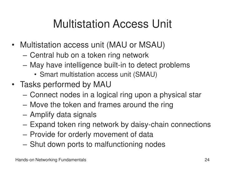 Multistation Access Unit