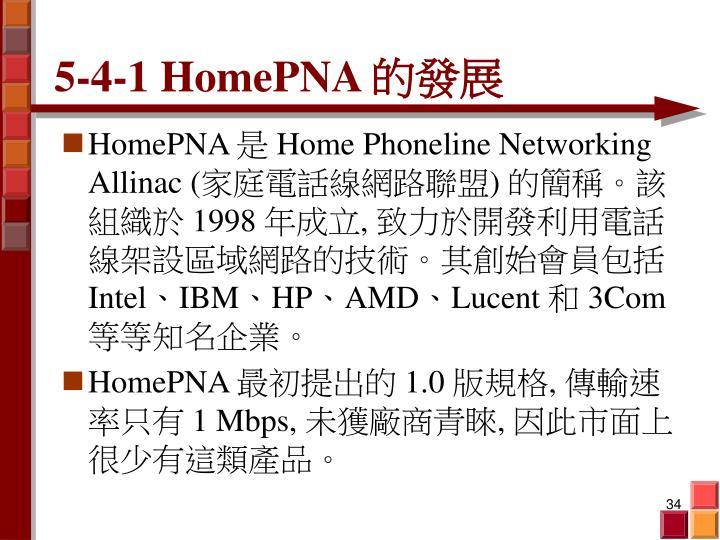5-4-1 HomePNA