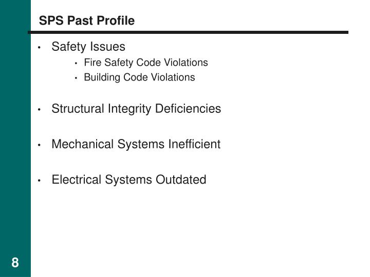 SPS Past Profile