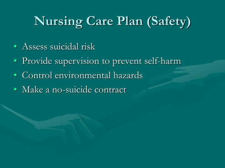 Nursing Care Plan (Safety)