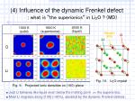 4 influence of the dynamic frenkel defect what is the superionics in li 2 o md