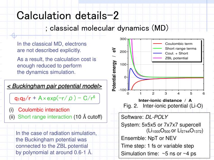 Calculation details-2