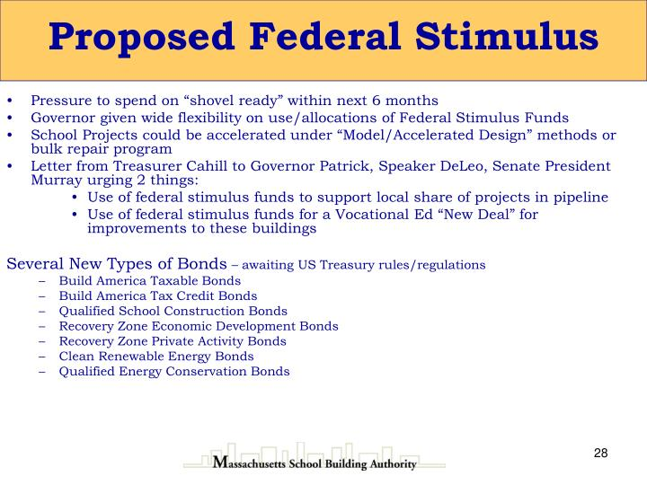 Proposed Federal Stimulus