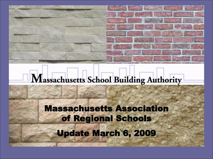 Massachusetts Association of Regional Schools
