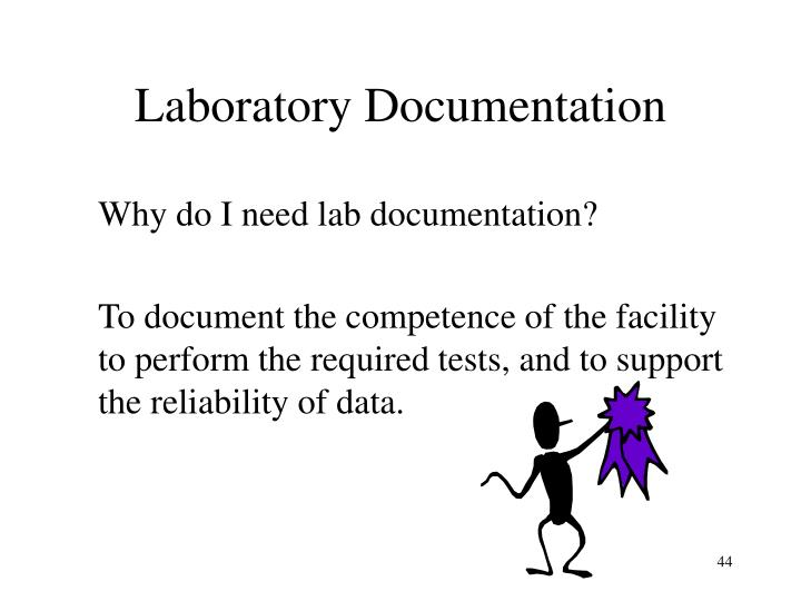 Laboratory Documentation