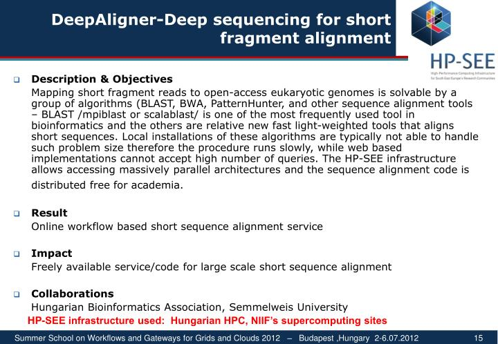 DeepAligner-Deep sequencing for short fragment alignment