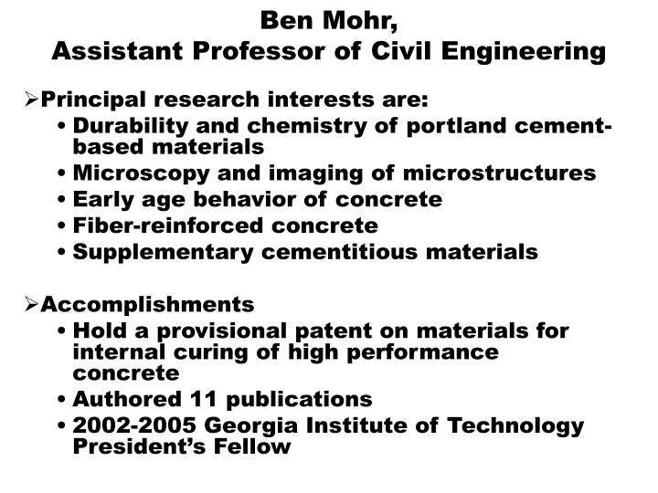 Ben Mohr,