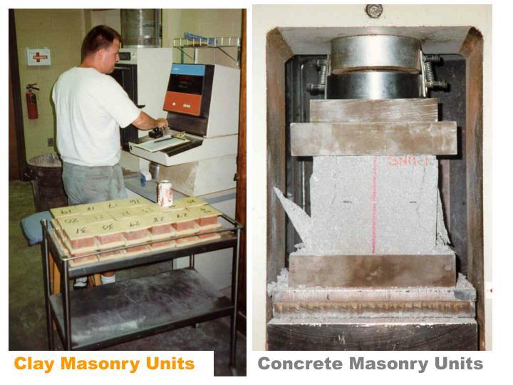 Clay Masonry Units