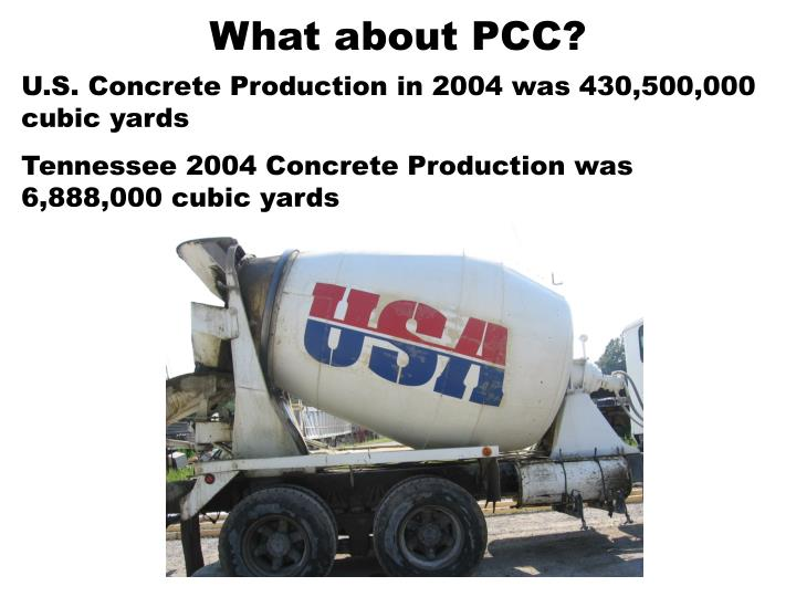 What about PCC?