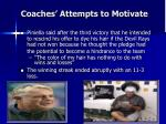 coaches attempts to motivate1