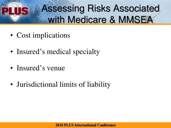 Assessing Risks Associated with Medicare & MMSEA