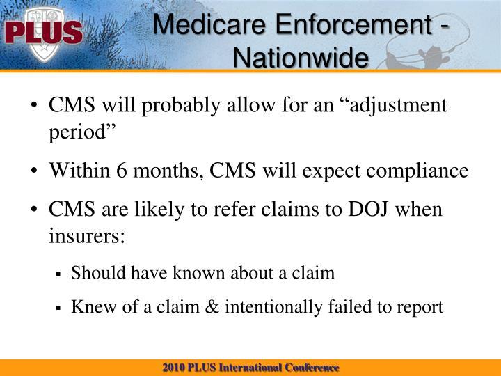 Medicare Enforcement - Nationwide