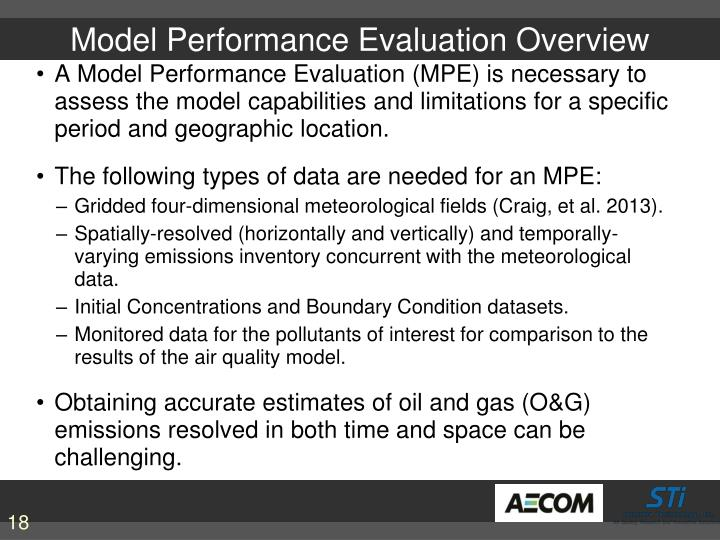 Model Performance Evaluation Overview