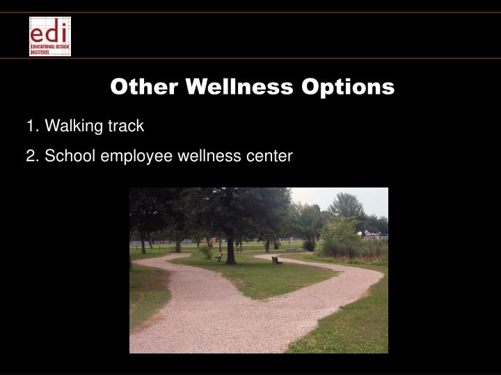 Other Wellness Options