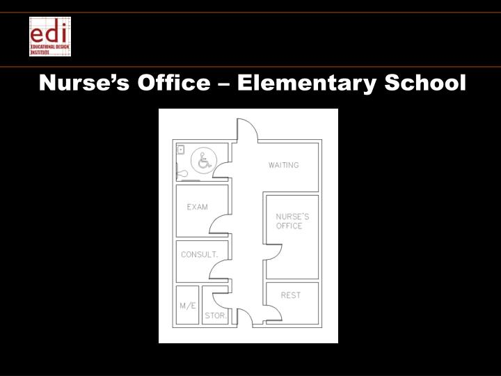 Nurse's Office – Elementary School