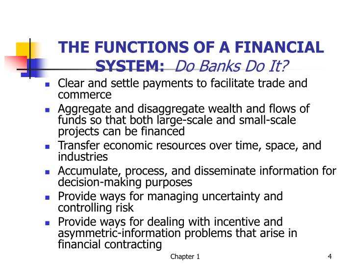 the functions of financial system How to create a world-class finance function  the top-tier functions also  finance needs to partner with it and take an active role in system setup and.