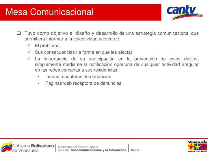 Mesa Comunicacional