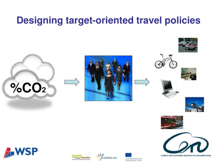 Designing target-oriented travel policies
