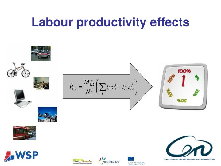 Labour productivity effects