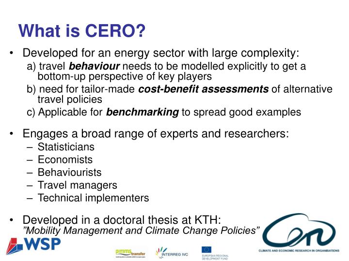 What is CERO?