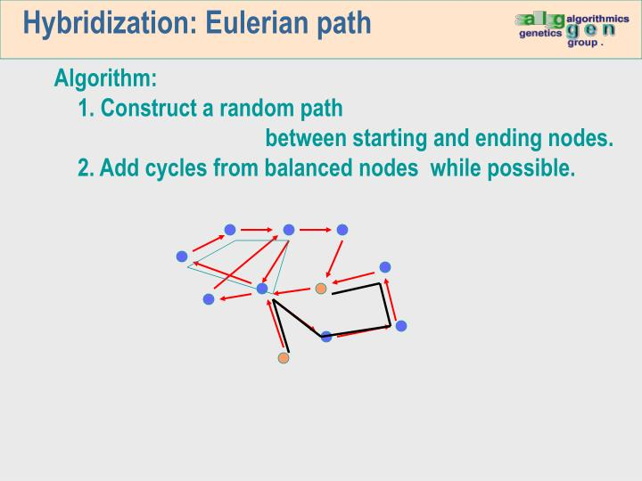 Hybridization: Eulerian path