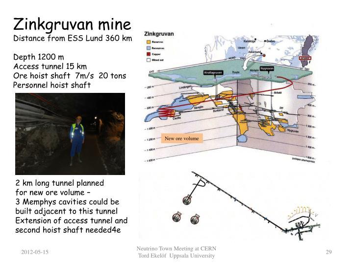 Zinkgruvan mine