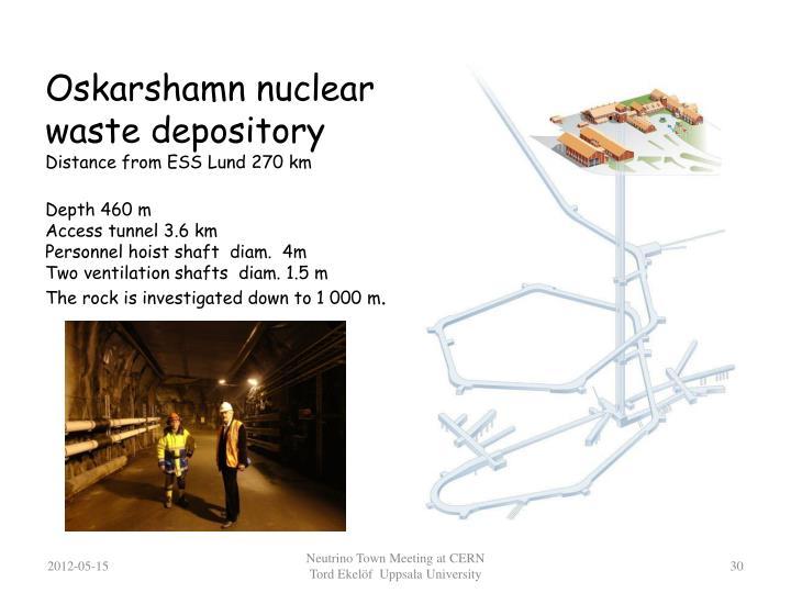 Oskarshamn nuclear