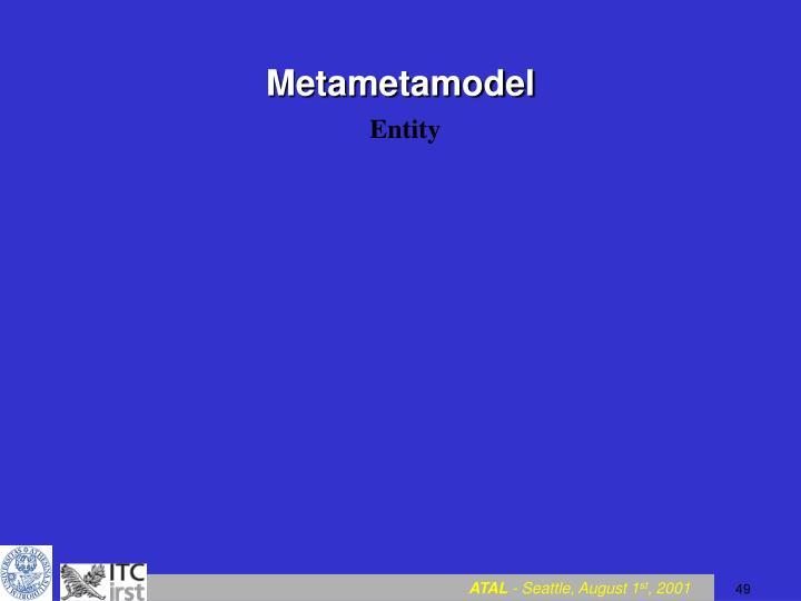 Metametamodel