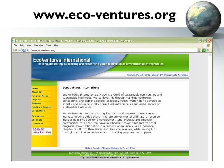 www.eco-ventures.org