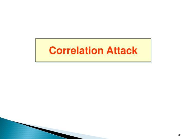Correlation Attack