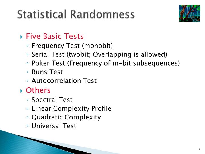 Statistical Randomness