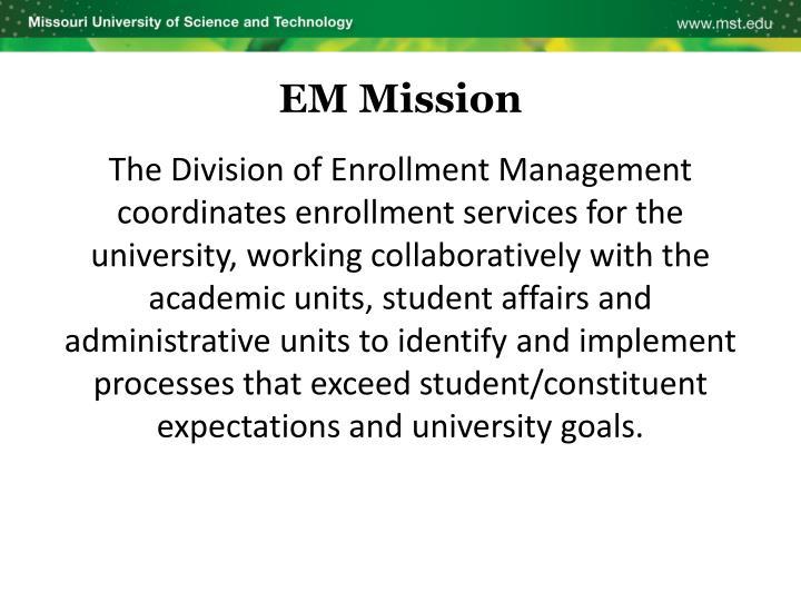 EM Mission