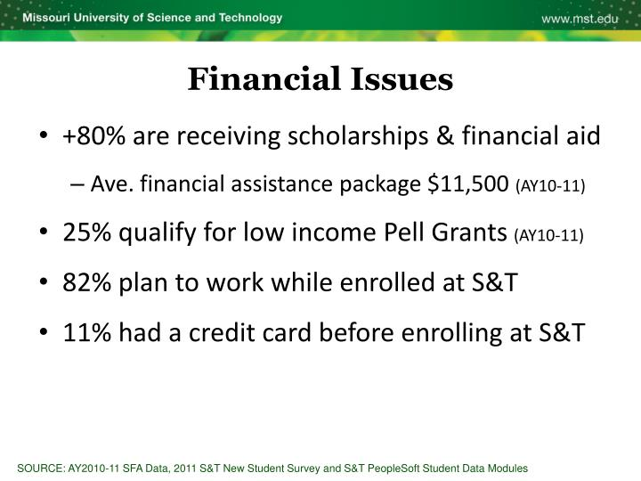 +80% are receiving scholarships & financial aid