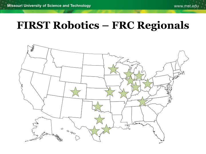 FIRST Robotics – FRC Regionals