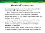 goals ay 2011 201210